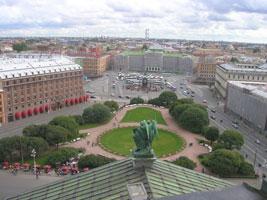 Панорама Санкт-Петербурга (воздушная перспектива)