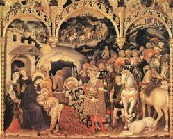 Поклонение волхвов (Джентиле да Фабриано, 1423 г.)