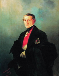 Портрет А.И. Казначеева (И.К, Айвазовский)