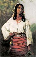 Румынская цыганка