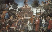 Искушение Христа (С. Боттичелли, фреска)