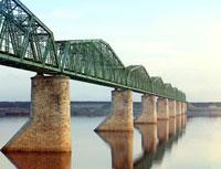 Железнодорожный мост через Каму
