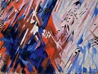 Красно-синий лучизм (М.Ф. Ларионов)