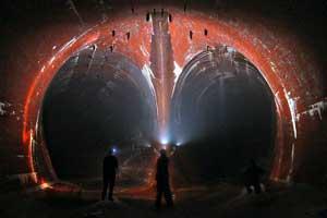 Туннель под Ниагарским водопадом