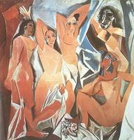 Авиньйонские девицы (П. Пикассо, 1907 г.)