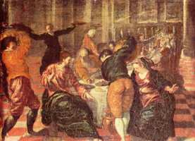 Эль Греко, картина - Свадьба в Кане