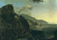 Вид Амальфи близ Неаполя (И.К. Айвазовский)