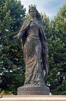 Памятник Анне Ярославне Мудрой во Франции