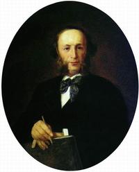 Портрет художника И.К. Айвазовского (И.Н. Крамской)