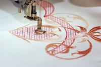 Вышивка машинным способом