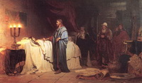 Воскрешение дочери Иаира (И.Е. Репин)