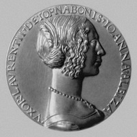 Медаль в честь Дж.А. Торнабуони (15 в.)