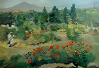 В ботаническом саду (М.С. Сарьян, 1951 г.)