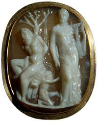 Аполлон и Марсий (Камея)
