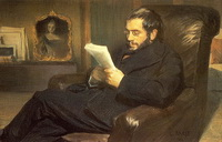 Портрет А.Н. Бенуа (Л. Бакст, 1898 г.)