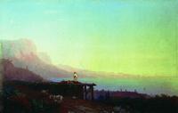Южная ночь. Крым (И.К. Айвазовский)
