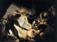 Рембрандт Ослепление Самсона.