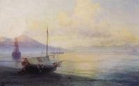 Неаполитанский залив ранним утром (И.К. Айвазовский)