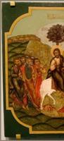 Левая часть картины Странствия Христа