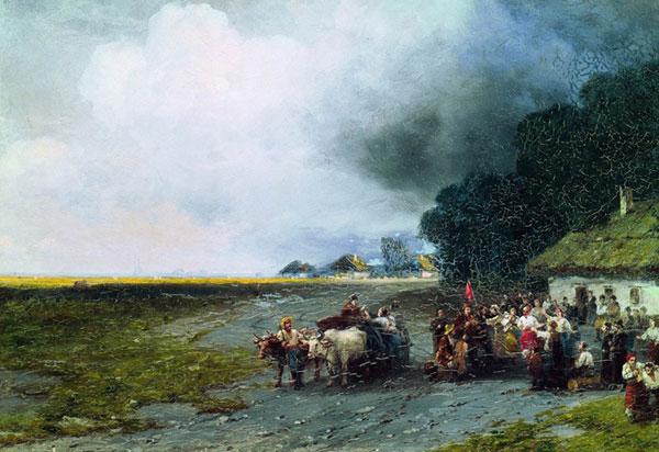 Свадьба на Украине. (Айвазовский И.К.)
