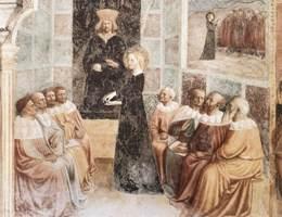 1425. Мазолино. Рим, церковь Сан-Клементе