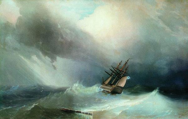 Буря. (Айвазовский И.К.)