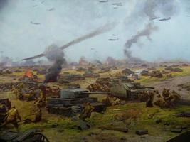 Курская битва (фрагмент диорамы)