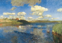 Озеро. Русь (И. Левитан, 1899-1900 г.)