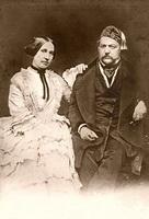 М.И. Глинка и его сестра Л.И. Шестакова