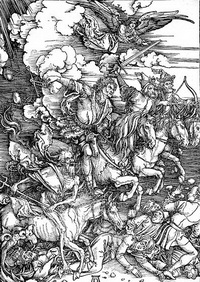 Четыре всадника Апокалипсиса (А. Дюрер)