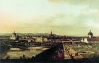 Вид Вены с Бельведера (Б. Белотто, 1759-1760 г.)