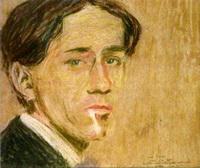 Джино Северини (Автопортрет, 1908 г.)
