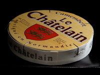 Коллекционная коробочка от французского сыра камамбер
