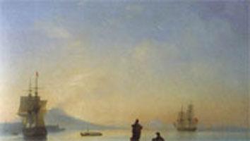 Неополитанский залив утром (И.К. Айвазовский, 1843 г.)