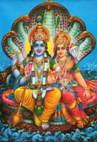Вишну и Лакшми