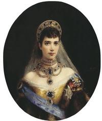 Портрет императрицы Марии Фёдоровны