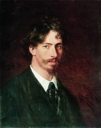 Илья Ефимович Репин (автопортрет, 1878 г.)