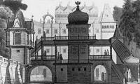 Эскиз декорации к опере Аскольдова могила (А. Роллер)