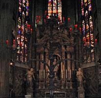 Витражи Миланского собора