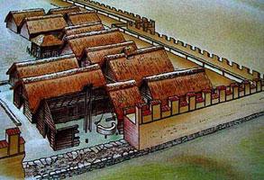 Укрепленное поселение эпохи Гальштата