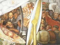 Ленин и Троцкий, вожди революции (фреска Д. Ривьеры)