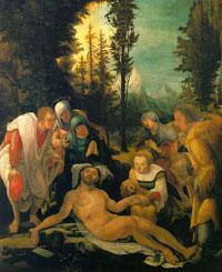 Оплакивание Христа (Хубер)