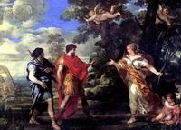 Венера является Энею в образе богини охоты (П. да Кортона)