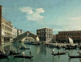 Мост Риальто (Каналетто)