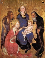 Обручение св. Екатерины (Микелино да Безоццо)