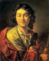 Портрет Ф. Волкова (А.П. Лосенко, 1763 г.)