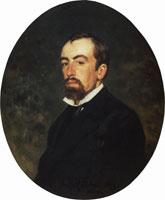 Портрет В.Д. Поленова (И.Е. Репин)