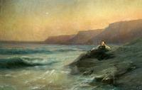 Пушкин на берегу Черного моря (И.К. Айвазовский)