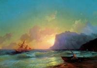 Море. Коктебель (И.К. Айвазовский)