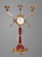 Канделябр Часы